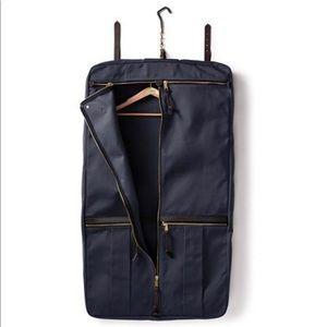 Filson Rugged Twill Garment Bag Navy - $775 Retail